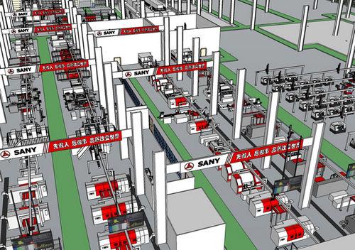 三一集团通过数字化工厂实践工业4.0