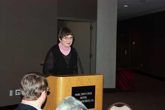 Helen Gill在CPSWeek/RTAS 2009 Banquet