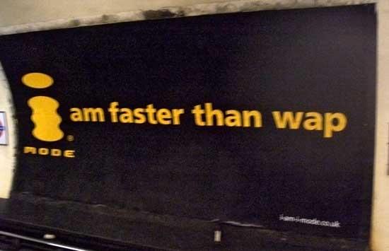 日本DoCoMo在英国的i-Mode广告
