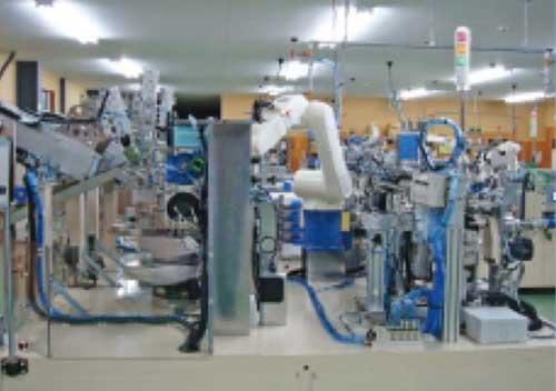 日本上野公司新一代线圈自动卷线系统