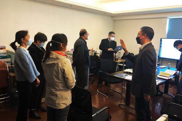北京市科委参观数字孪生体研究中心