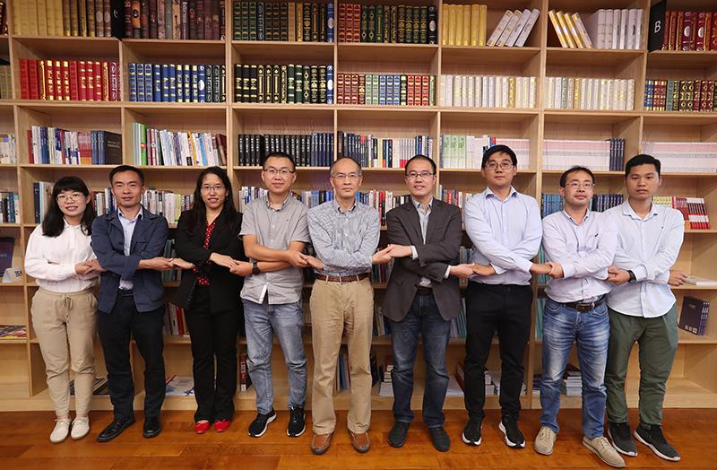中国自动化学会与数字孪生体联盟签约现场